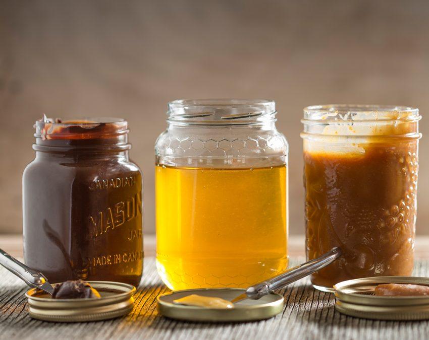 Caramel à tartiner au miel de sarrasin