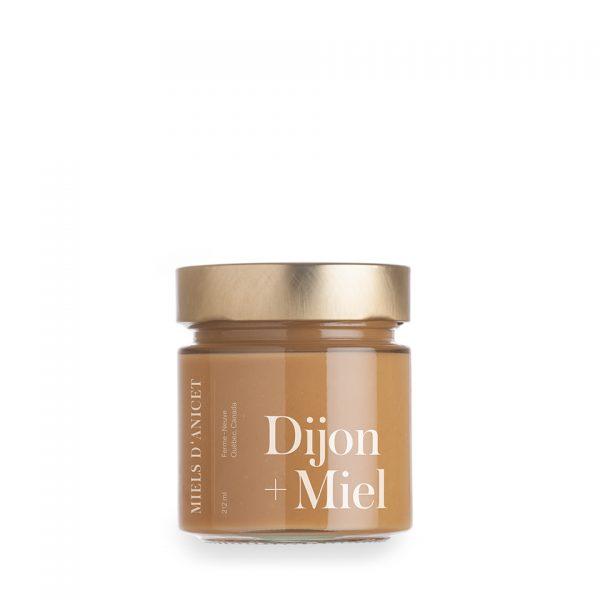 moutarde Dijon biologique au miel des Miels d'Anicet
