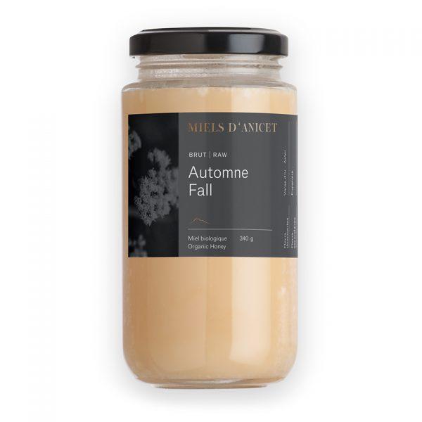 Pot de miel brut automne de Miels d'Anicet