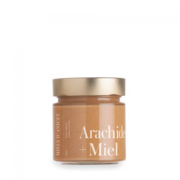 beurre d'arachide au miels d'anicet