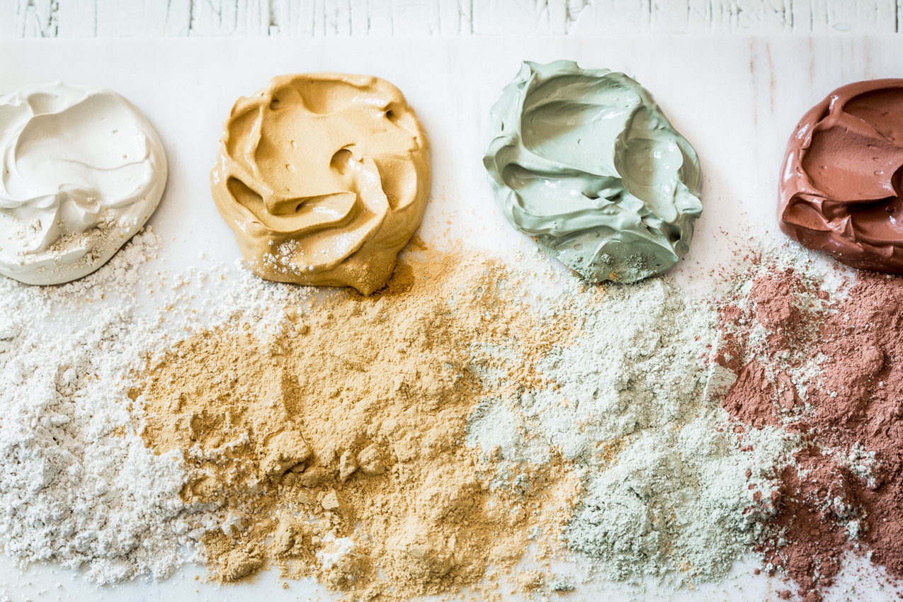 Masque revitalisant et purifiant à l'argile, au miel et au pollen