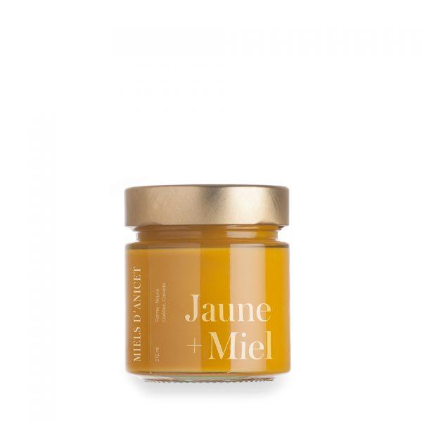 moutarde jaune biologique au miel des Miels d'Anicet