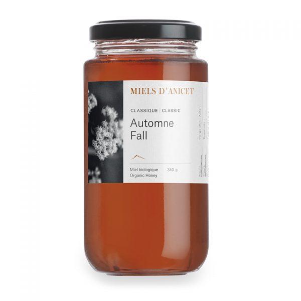 Pot de miel classique automne de Miels d'Anicet