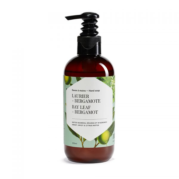 savon à main liquide mélia laurier et bergamote