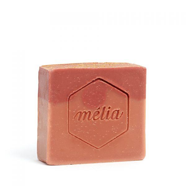 Savon noël artisanal biologique au miel de la gamme Mélia