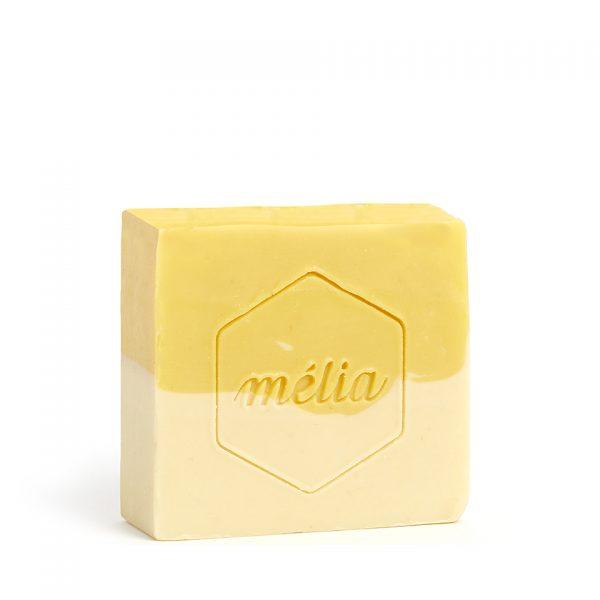 Savon pour bébé artisanal biologique au miel de la gamme Mélia