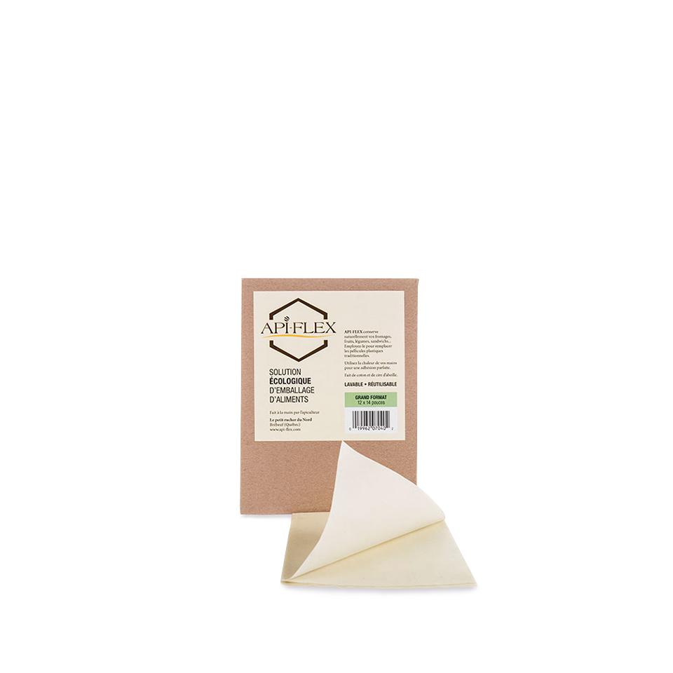 emballage pour aliments base de cire d 39 abeille grand format api flex. Black Bedroom Furniture Sets. Home Design Ideas