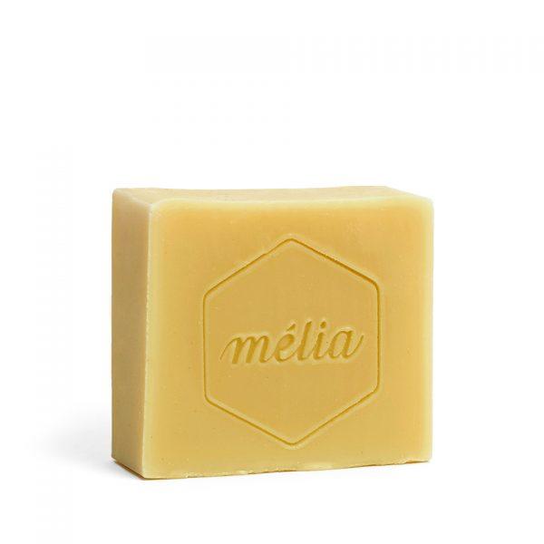 Savon pour homme artisanal biologique au miel de la gamme Mélia