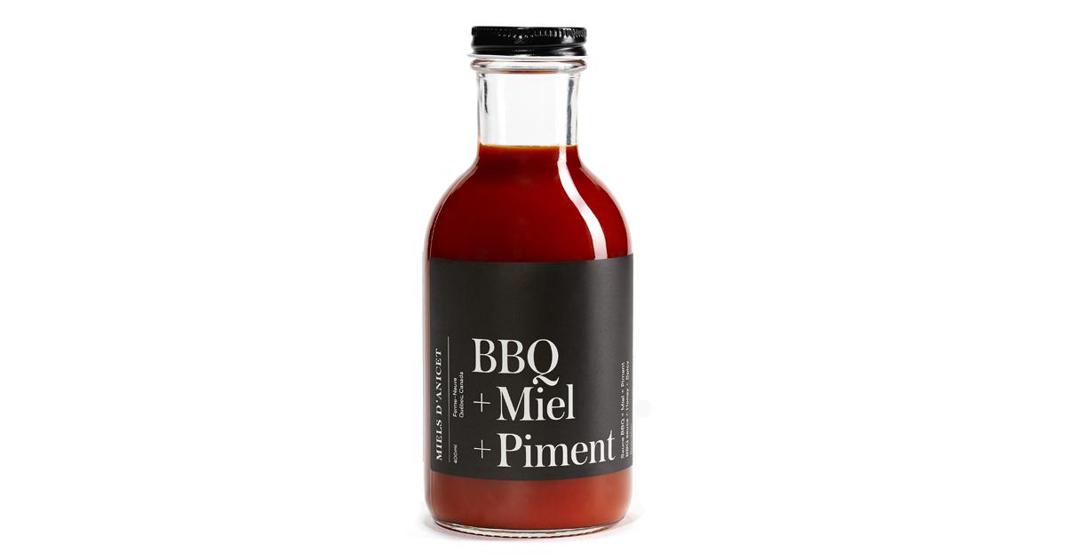 Sauce bbq miel piment 400ml miels d anicet - Difference entre vinaigre blanc et vinaigre d alcool ...